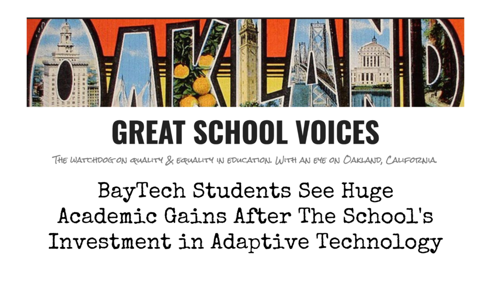 BayTech Featured on Great School Voices