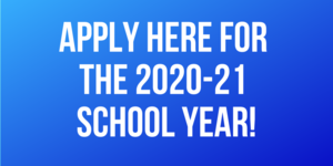 2020-2021 Application is Open!