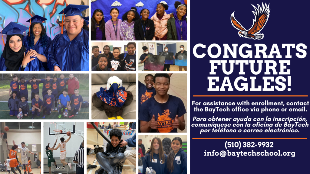 Congratulations Future Eagles!