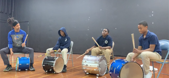 Drum Performance at the Multicultural Event