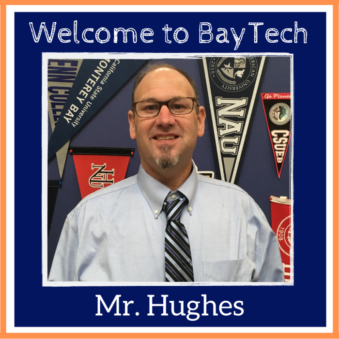 Welcome Mr. Hughes