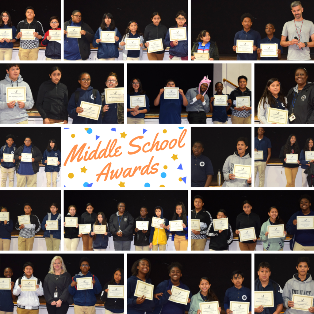 Middle School awards